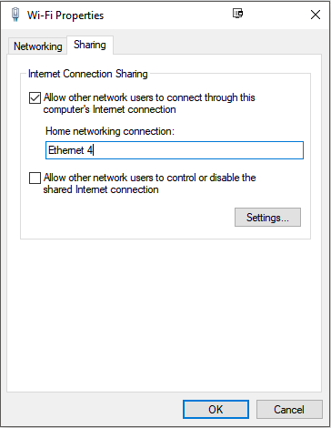 Sharing your Internet connection with a Raspberry Pi Zero via USB in